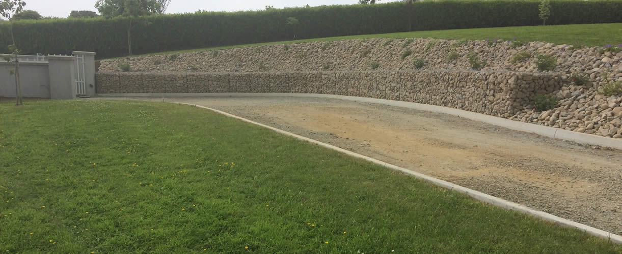 Retaining Walls & Gabion Baskets Limerick